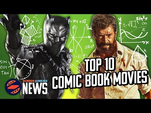 Number Crunch: Top 10 Comic Book Movies Of All Time