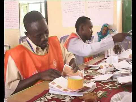 MaximsNewsNetwork: DARFUR VOTE COUNTING (UNAMID)