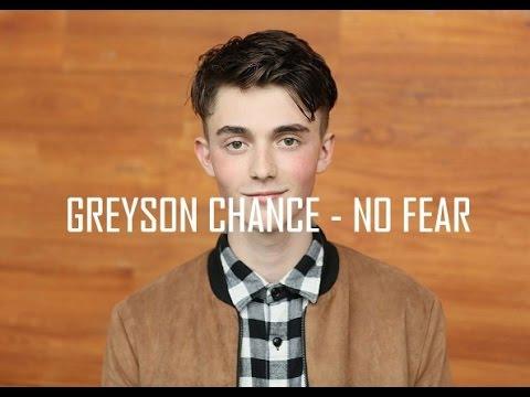 Greyson Chance - No Fear (Lyrics)