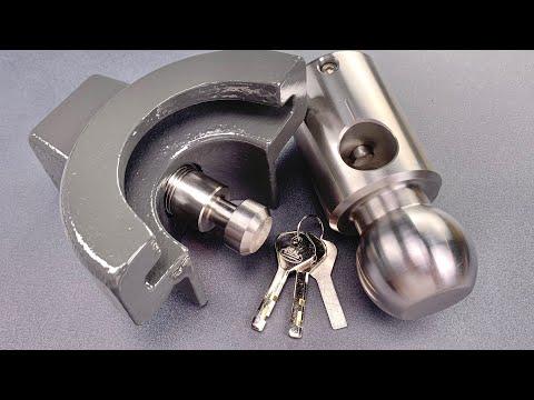 [1227] 10lbs/$265 Trailer Lock Picked (AMPLock BRP-2)