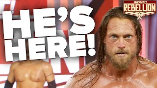 SHOCKING DEBUT of Eric Young's Surprise Replacement! | Rebellion 2021 Highlights