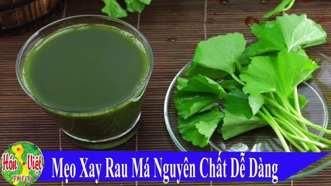 ✅ Cách Xay Rau Má Nguyên Chất Ngon Nhanh Gọn Ít Người Biết | Hồn Việt Food