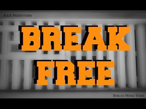 Break Free Roblox Music Video w/ Fans - YouTube