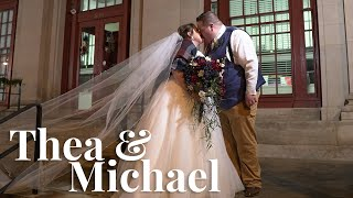Thea & Michael // The Old Ashland Post Office // 11.27.19
