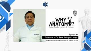Podcast Why Anatomy ?  | Episodio #7 | Entrevista al Dr. René Rodríguez Vega