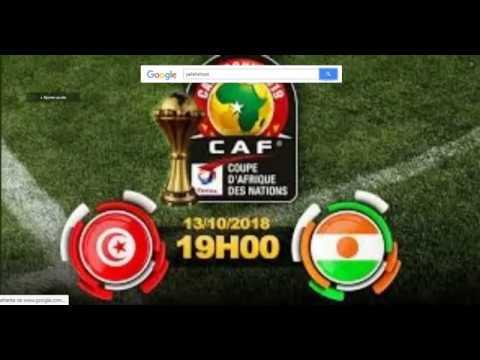 Tunisie vs Niger Live 19H15 GMT+1