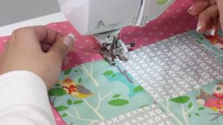 [BrotherSupportSewing] Patchwork, Piecing, Quilting and Free motion quilting