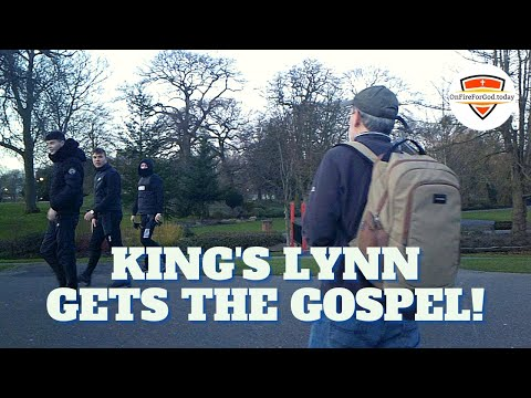 UK Street Preaching: The Walks, King's Lynn, Norfolk, England