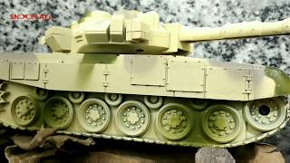 Tank Model (Remote Controlled with 360 Degree Rotation)