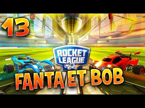 Fanta et Bob - Ep.13 : TURBO SLAM DUNK !!! - COOP sur Rocket League