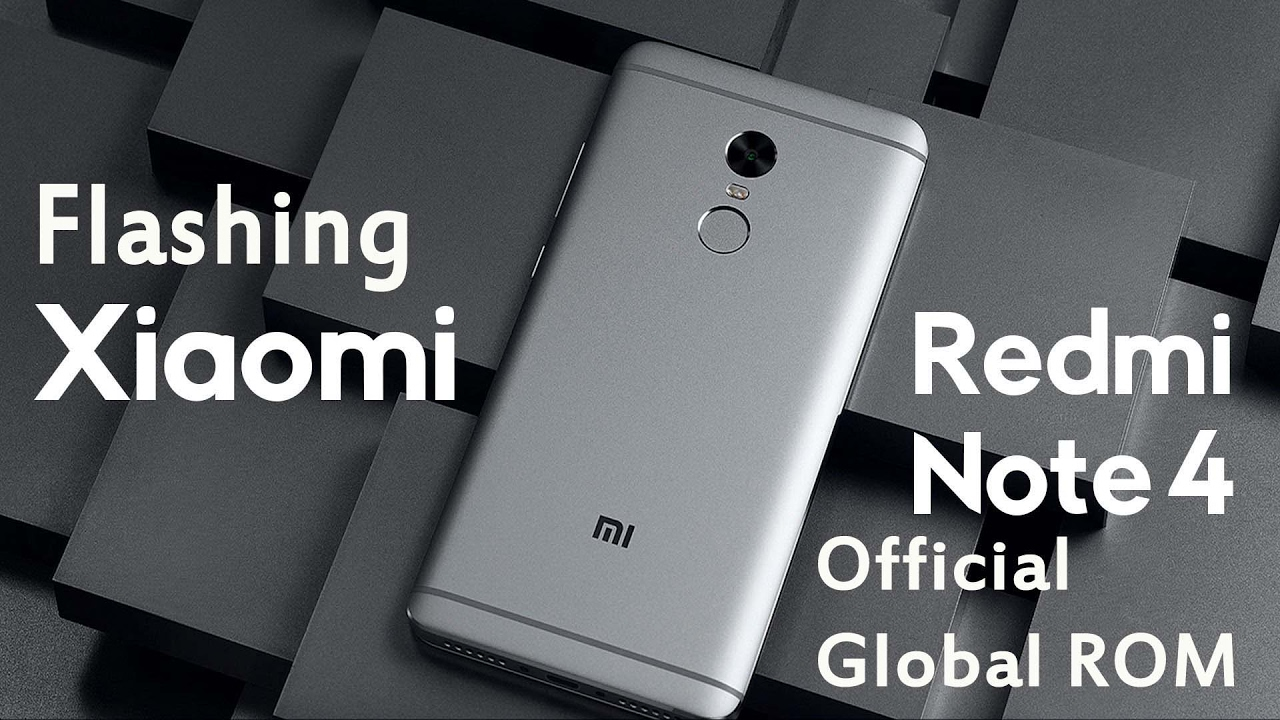 Flash Redmi Note 4 Official Global Rom (MTK) Flashing