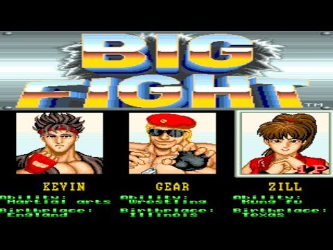 Big Fight - Big Trouble in the Atlantic Ocean | Arcade | 2 Player Longplay