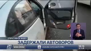 Вырвал телефон у ребёнка: автоворов задержали столичные полицейские