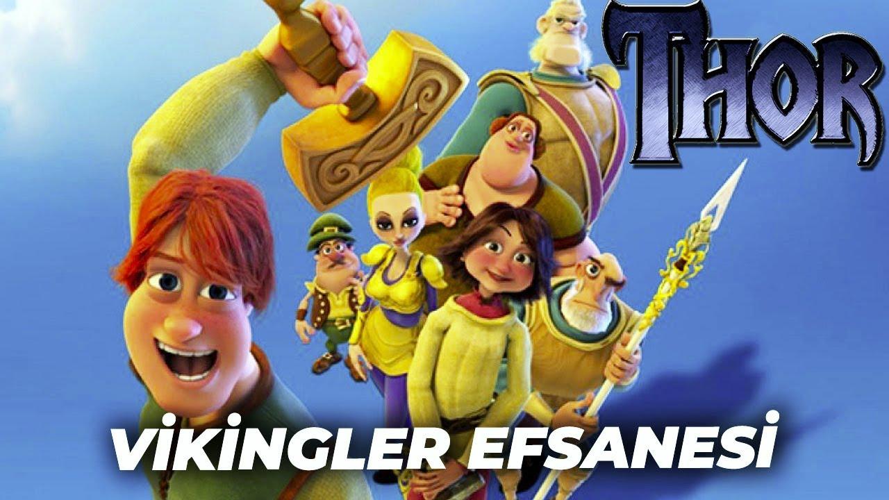 Vikingler Efsanesi Animasyon Film izle