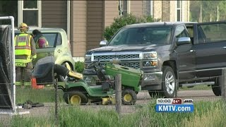 FATAL LAWN MOWER ACCIDENT