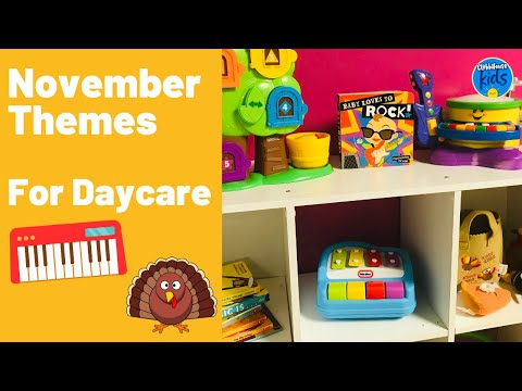 TODDLER LESSON PLANS FOR THE MONTH OF NOVEMBER