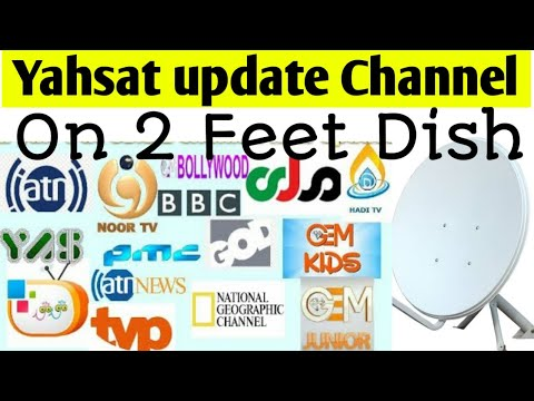 Yahsat channel list 2019 | Yahsat 52 5e Channels list Update - YouTube