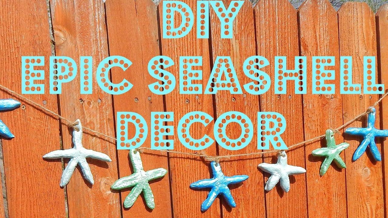 Diy Home Decor Beach Starfish Garland
