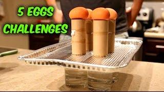 5 Eggs Challenges
