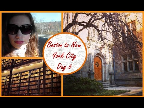 Yale University Tour & Arriving in New York - Christmas Travel Vlog