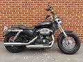 Harley-Davidson XL1200 Sportster CB Custom 2017. www.ridersmotorcycles.com