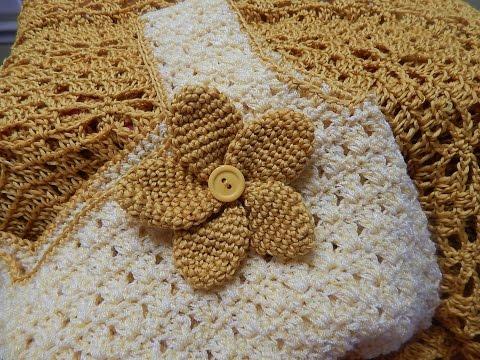 Flor # 10 para Vestido Crochet Circular