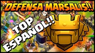 MARSALIS DEFENDIENDO - ESTRATEGIA EN DEFENSA - A por todas con Clash of Clans - Español - CoC