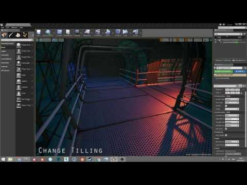 Modular Corridor Tool - Material Layering