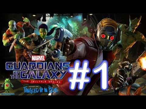 Marvels Guardians of the Galaxy GAMEPLAY (iOS / Android / PC STEAM ) By Telltale - #1