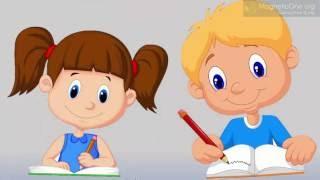 Навчання грамоти в першому класі. Письмо букви М