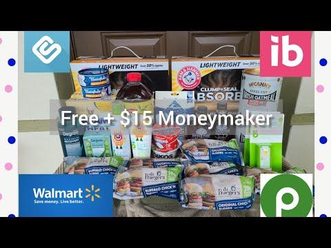 Ibotta Haul 7.28 | Walmart & Publix | Moneymaker Cat Litter 🐈