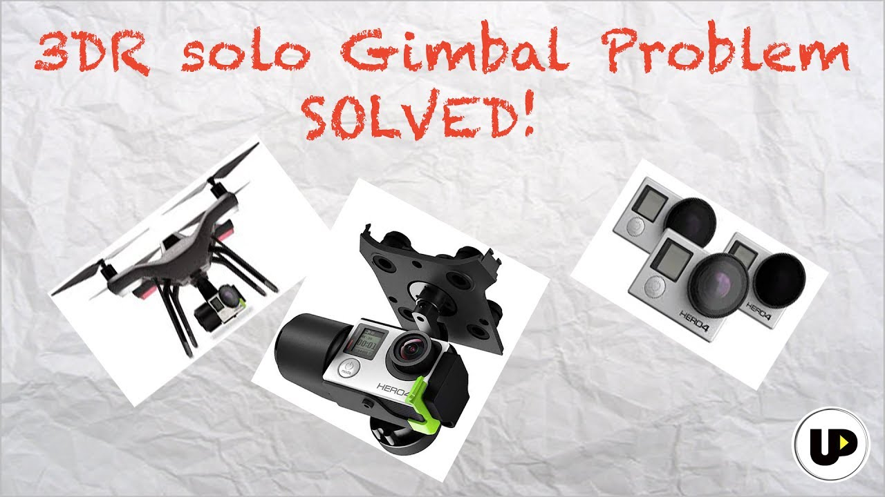 How to fix 'gimbal shaking' in 3DR Solo drone - Drone