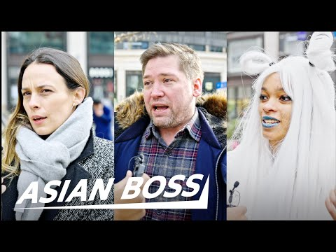 Why Do Americans Live In China? | STREET INTERVIEW