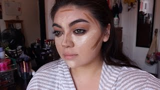 How To Conceal Freckles,highlight & Contour Using Drugstore Products