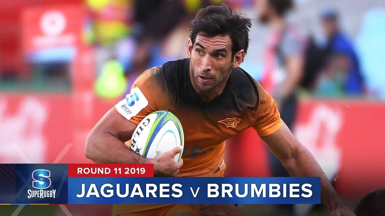 Jaguares v Brumbies | Super Rugby 2019 Rd 11 Highlights