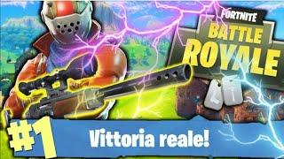 vittoria reale con sette kill Fortnite ITA