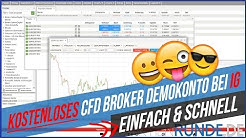 Kostenloses CFD Broker Demokonto bei IG - Einfach & Schnell