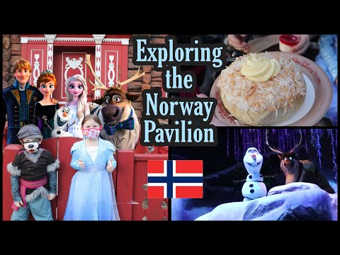 Exploring the Norway Pavilion   Trying Norwegian Treats   Epcot Norway Merch   Frozen Ever After