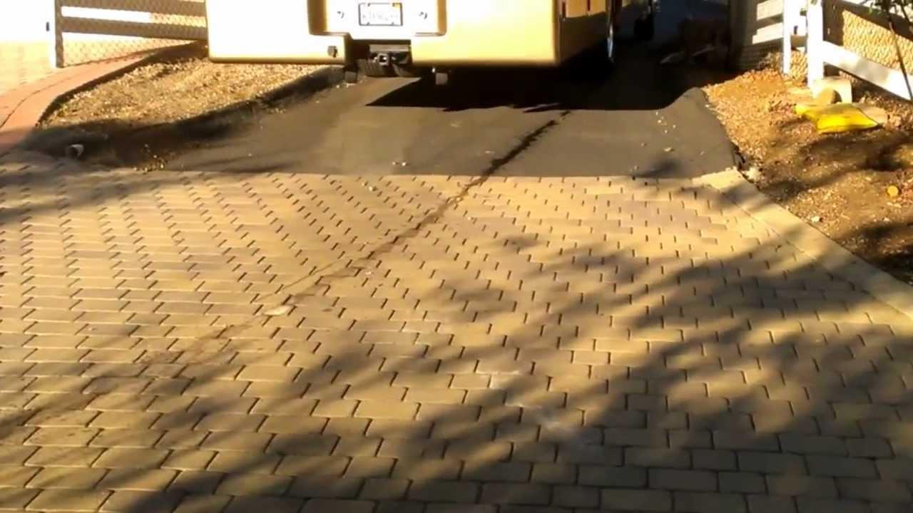 Dynamax Xv Steep Driveway Rv Casters
