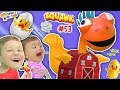 Chase's Corner: SQUAWK! Chicken & Eggs Popping Challenge Game w/ Clarence (#53) | DOH MUCH FUN
