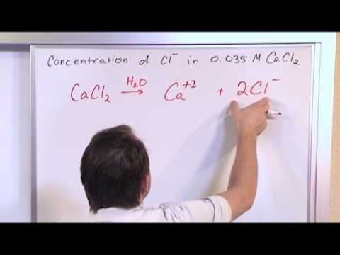 Calculating Ion Concentration in Solutions - Chemistry Tutor
