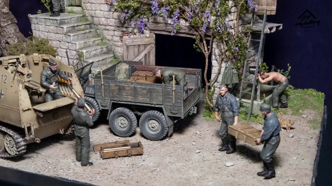 Best of WW2 Diorama by CW Modelling