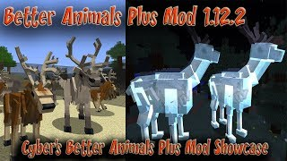 Better Animals Plus Mod Showcase Minecraft 1.12.2 HD 60FPS