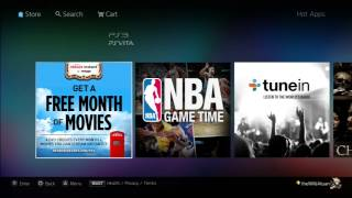 New Apps PS3/Vita - Redbox, NBA Game Time, Tune In Radio