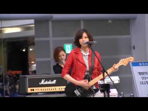 西内まりや[Don't let me down]7 WONDERSリリースイベント池袋サンシャイン噴水広場1