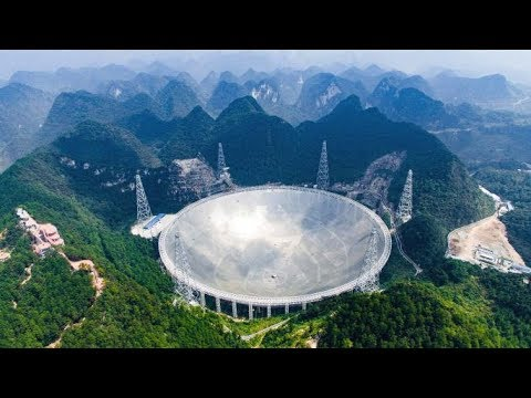 World largest Telescope/China 500 Meter Radio Telescope /Unknown facts telugu// Interesting Facts