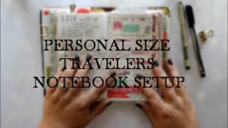 My 2016 Setup | Personal Traveler's Notebook | Naked Cow(This is my 2016 setup in the beloved personal-size Water Buffalo leather Traveler's Notebook from The Naked Cow. I have meshed together the basics of a ..., 2016-02-16T01:06:19.000Z)