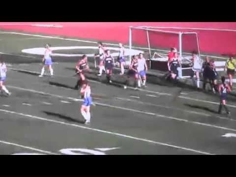 Colleen Murphy goal vs  Bentley