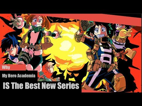 Why My Hero Academia Is The Best New Manga/Anime Series