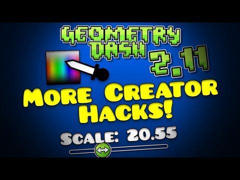 Geometry Dash 2.11 MultiScaling & Colour Picker! [2.113]